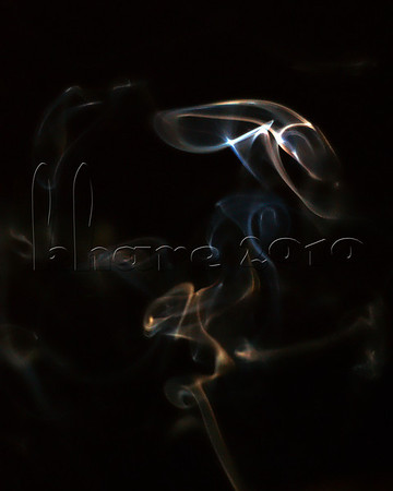 """Photo a Day for a Year"": Monday May 31 2010, 7:05pm  ...first attempt at shooting smoke - using an incense stick."