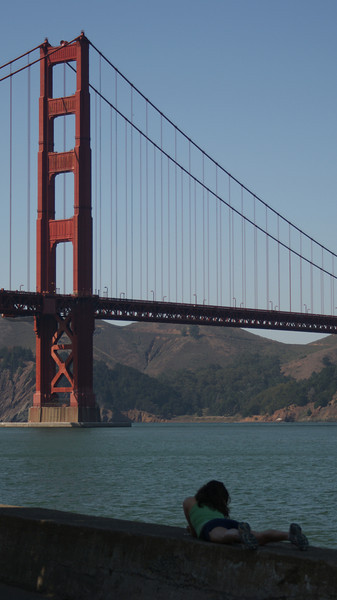 Golden Gate Bridge, San Francisco, October 2009
